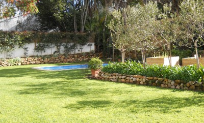 Landscaping cape town soft and hard landscaping for Koi pond builders cape town